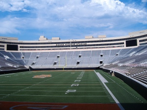 Boone Pickens Stadium, home of the Oklahoma State Cowboys. (Photo via Flickr/Ensign Beedrill)